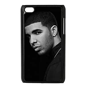Customize Famous Singer Drake Back Case for ipod Touch 4