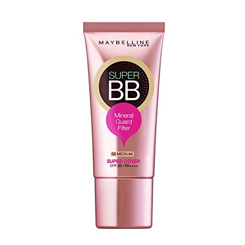 Maybelline Super BB Super Cover Cream Spf50 PA++++ 30ml 02 (Hydro Mineral Natural Finish Makeup)