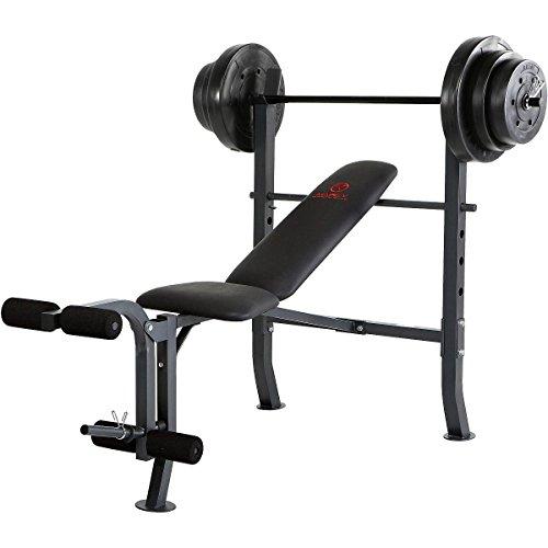 weight set bench press - 4