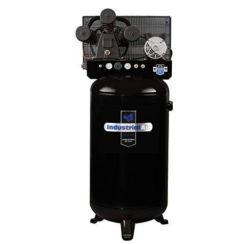 Industrial Air ILA4708065 80-Gallon Hi-Flo Single Stage Cast Iron Air Compressor ()