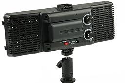 ePhoto 320 LED Bi-Color Changing Dimmable LED Professional LED Light Video DSLR Camera Light Panel LED320