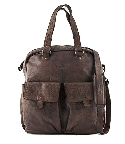 Avirex G1 Red collection Shopping Shoulder Bag Nero Black G1R-002-BK