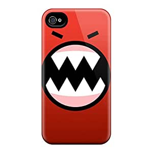 Awesome Case Cover/iphone 4/4s Defender Case Cover(red Monster)