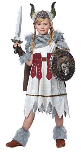 California Costumes Valorous Viking Girl Costume, Multi, X-Small - http://coolthings.us