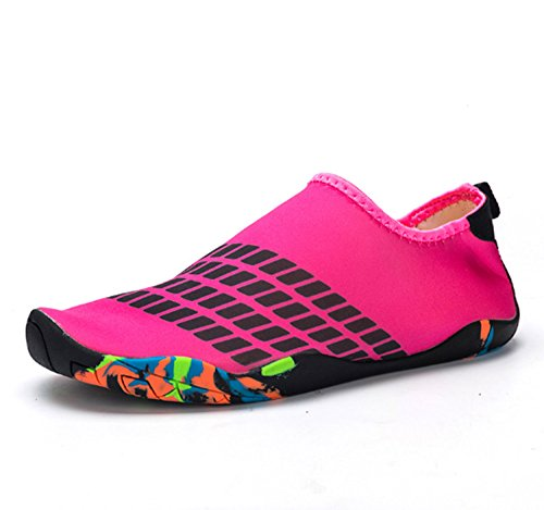 Shoes Wading Diving Soled Non Summer Gym Swimming Pink Shoes Women's Yoga Soft Sports Shoes Shoes slip zfCAWq