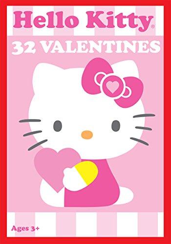(Paper Magic 32CT Showcase Hello Kitty Kids Classroom Valentine Exchange)