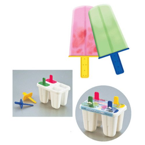 6 Pack Rocket Lolly Moulds, Multi-Coloured HuaYang