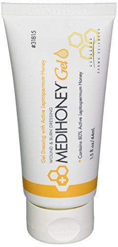 Amerigel Wound Dressing - Derma Sciences 31815 Medihoney Dressing Gel, 1.5 oz. Tube