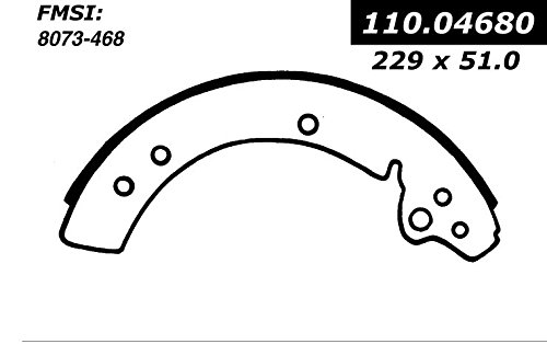 Centric Parts, Inc. 111.04680 Brake Shoe Set