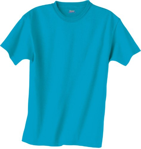 picture of Hanes Kids' Beefy-T T-Shirt 6.1 oz, XS-Light Steel