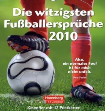 Harenberg Postkarten-Kalender Die witzigsten Fußballersprüche 2010