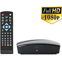 Get Rid of Cable - Use this Digital TV Converter Box To View and Record Full HD Digital Channels at no Cost (Instant or Scheduled Recording, 1080P HDTV, HDMI Output)
