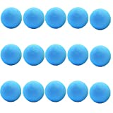 Aoneky 15 Pack Baby Toys Balls - Small Soft Foam Balls for Toddlers Blue