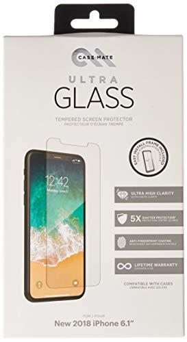 Case-Mate - iPhone XR - ULTRA GLASS Screen Protector - iPhone 6.1 - Ultra clear ()