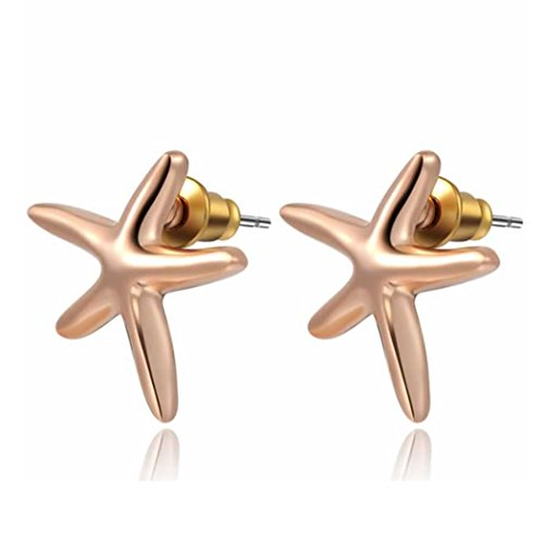 duo-la-charm-starfish-18k-rose-gold-plated-lady-elegant-stud-earrings
