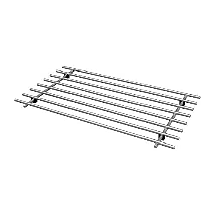 IKEA Rejillas LAEMPLIG, 50 cm, De Acero Inoxidable