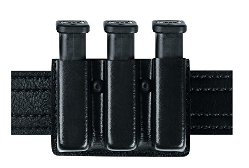Safariland Duty Gear Glock 17 Open Top Slimline Triple Magazine Pouch (STX Black)