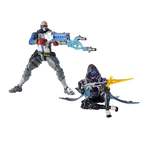"Hasbro Overwatch Ultimates Series Soldier: 76 & Shrike (Ana) Skin Dual Pack 6"" Collectible Action Figures"
