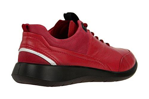ECCO Soft 5, Zapatillas para Mujer Rojo (Brick/brick)