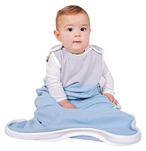 Infant and Toddler All Season Sleep Sack 0-2 Year Grey ANTIPODES MERINO Baby Sleeping Bag Wool /& Cotton