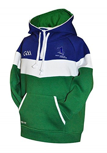 Official GAA Merchandise Croker Kids GAA Fleece Panel Hoodie, 10