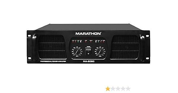 Amazon.com: Marathon MA-5050 PRO Series Amplifier: MARATHON: Musical Instruments