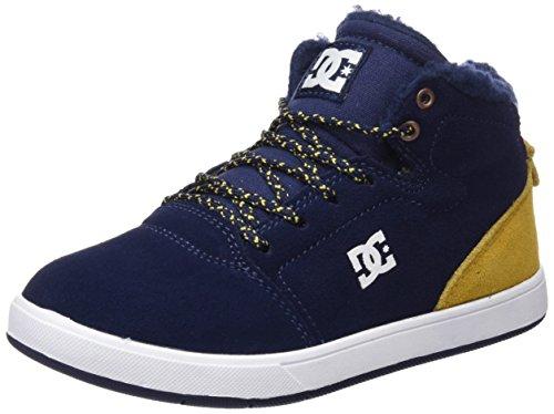 DC Jungen Crisis Wnt Hohe Sneakers, Blau (Navy/Gold-Ngl), 38 EU