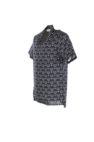 Yes Zee Camicia Uomo XL Blu C700 Ue00 Primavera Estate 2018
