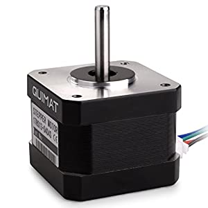 Quimat Nema 17 Stepper Motor with Cable and Connector for 3D Printer/CNC from Quimat