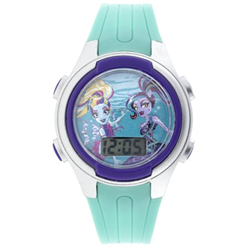 Price comparison product image MATTEL Girl's Quartz Plastic Casual Watch,  Color:Blue (Model: MHKD16039CTS)