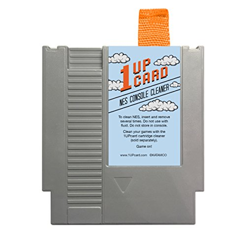 NES Console Cleaner - Nintendo Cleaning Cartridge from 1UPCARD