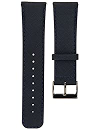 ASUS Smartwatch Replacement Band for - Dark Blue/Premium Leather