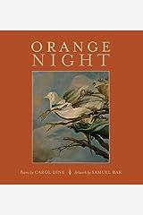 Orange Night Hardcover