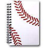 野球ノート 作戦ノート_野球ボール柄【A6サイズ】