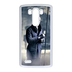 Benedict Cumberbatch 012 LG G3 Cell Phone Case White Protective Cover