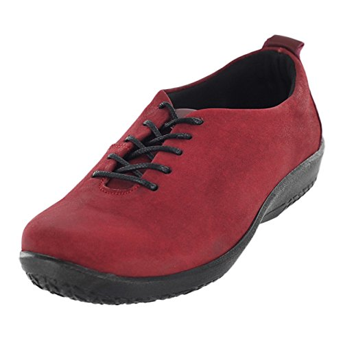 Arcopedico Womens Francesca Oxford (6923) Red Size 38 EU (7.5-8 M US Women)