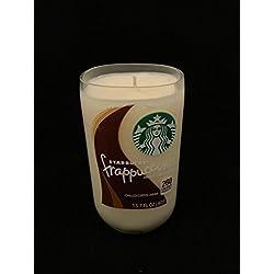Mocha, Starbucks, Soy Candle, Reclaimed Bottle, Handmade