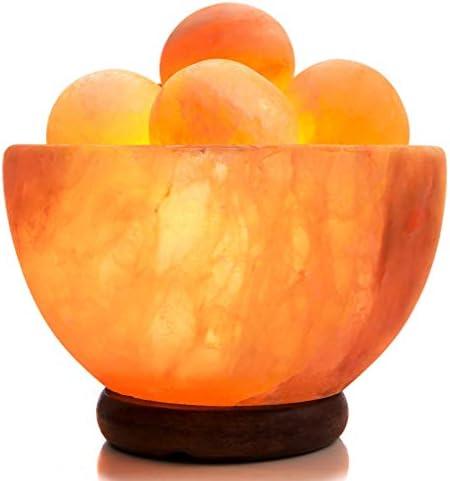 UMAID Natural Himalayan Rock Sea Salt Lamp Bowl