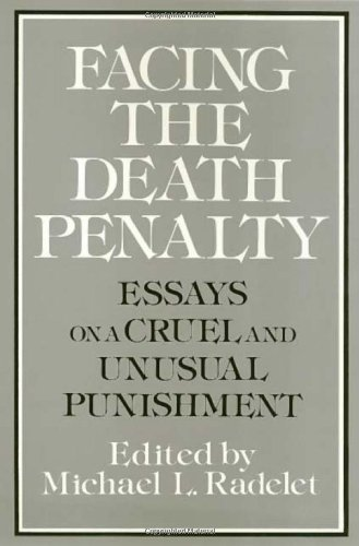 death penalty cruel and unusual punishment essay