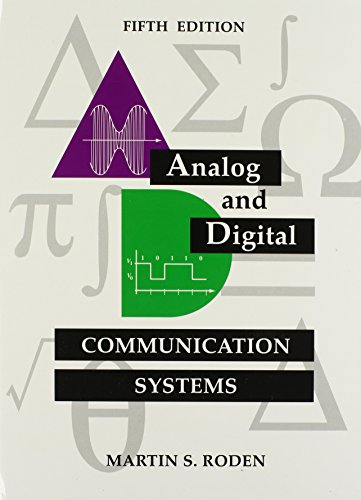 Systems Digital Analog - Analog and Digital Communication Systems