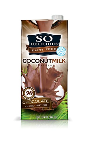 So Delicious Dairy Free - Organic Coconut Milk Beverage Organic Chocolate,  32-Ounce (Pack of 6)
