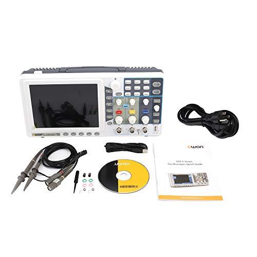 (Owon SDS5032EV Digital Storage Oscilloscope 30MHz 2+1 Channels Record USB Waveform Generator Logic Analyzer Spectrum)