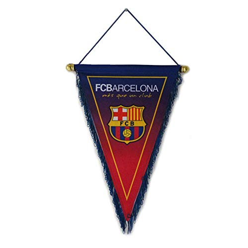 ZQfans FC Barcelona Indoor and Outdoor Flags Bar/Club/Bedroom Decoration Hanging Pennant ()