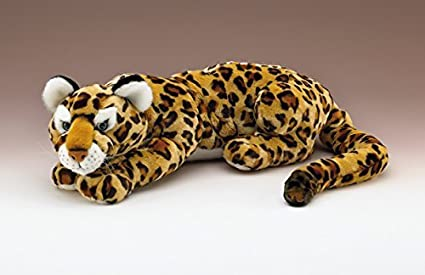 Wildlife Artists Jaguar Lying Plush Toy 35 Long with Tail By