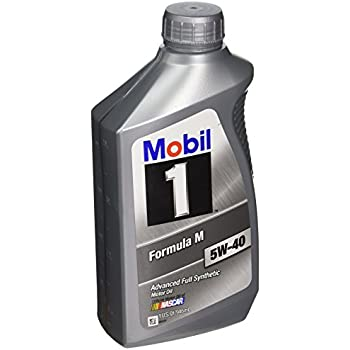 Mobil 1 122094 5W-40 Formula M Motor Oil-1 Quart Bottle, 6 Pack
