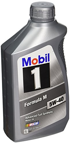 Mobil 1-CASE 5W-40 Formula M Motor Oil - 1 Quart Bottle, (Pack of 6)