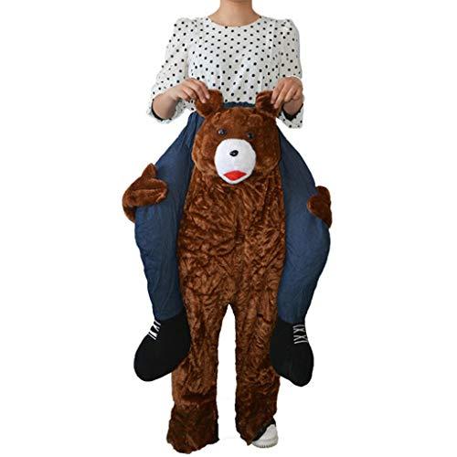 MILIMIEYIK Flower Piggyback Costumes, Unisex Funny Costumes,Ride On