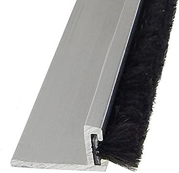 cepillo Junta BSK 10 mm – 200 cm puerta cepillo Junta cristal y puerta: Amazon.es: Bricolaje y herramientas