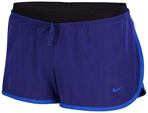 Nike Women's Dri-Fit Full Flex 2-In-1 Training Shorts-Royal Blue/Black-XL