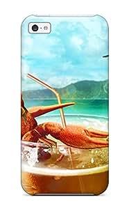 Premium Tpu Humor Animal Cover Skin For Iphone 5c